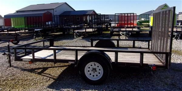 "Used 2008 Carry-On 82"" x 12 ATV Side Load Gate"