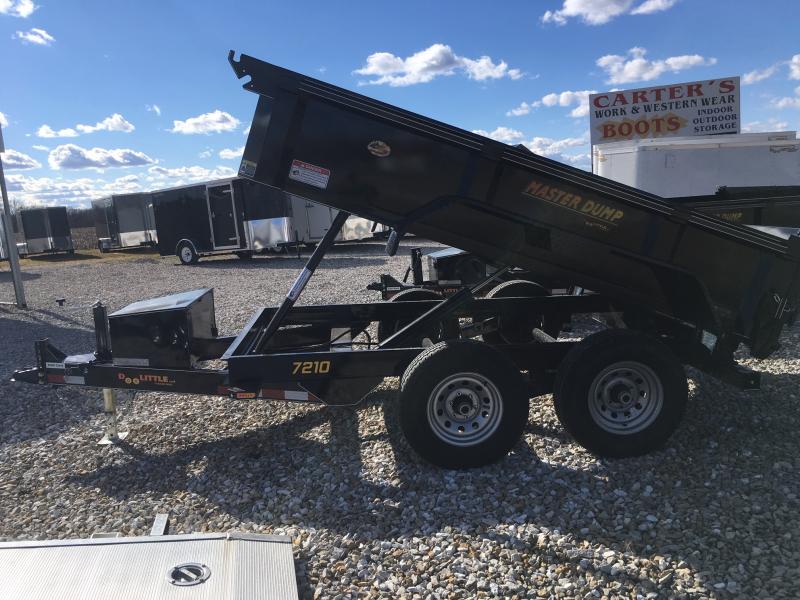 "2019 Doolittle 72"" x 10' Dump Trailer 10000 GVWR"