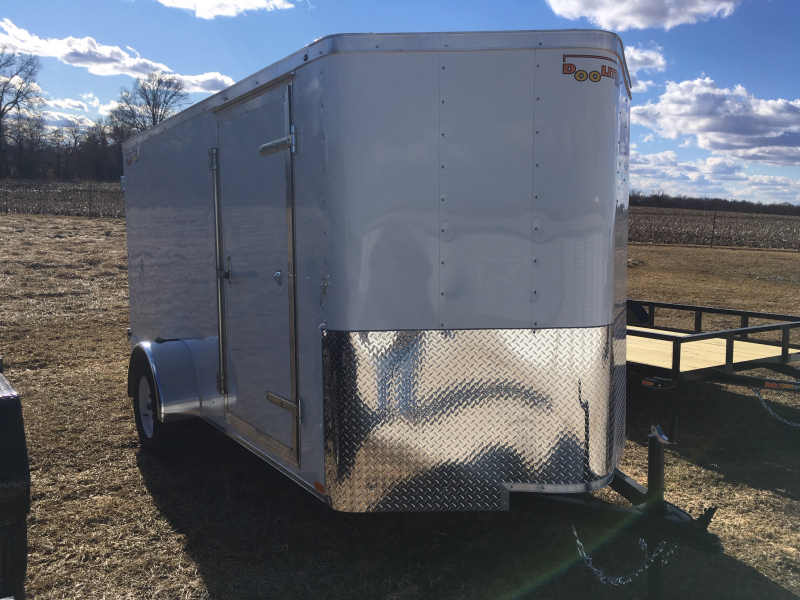 2019 Doolittle 6' X 12' REAR DOUBLE DOORS Enclosed Cargo Trailer