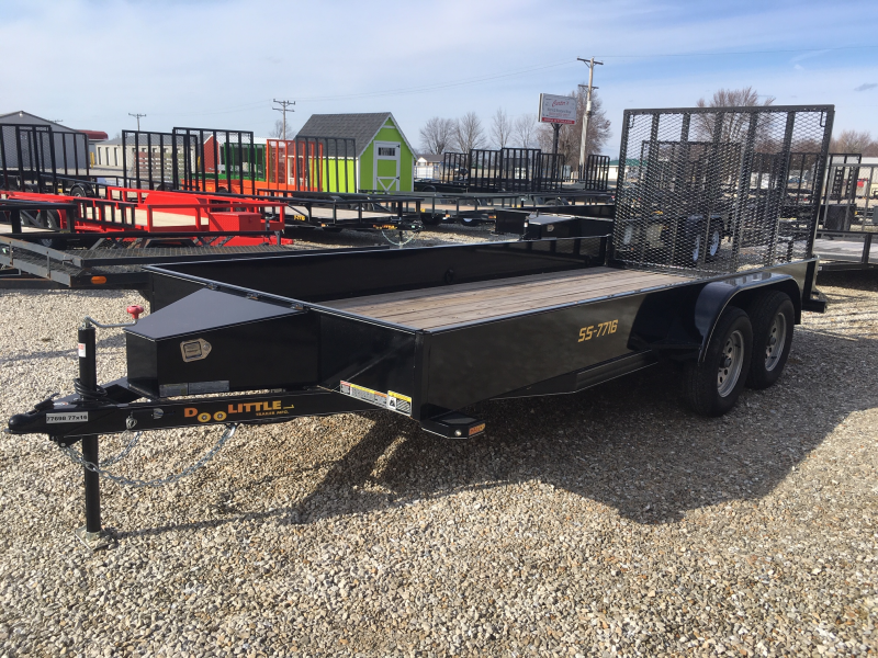 2018 Doolittle 77 x 16 SS SERIES Utility Trailer