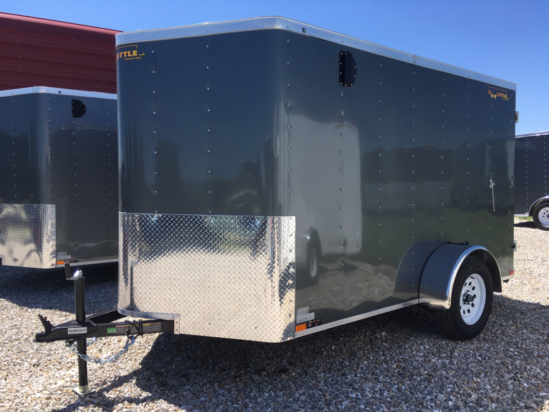 2019 DOOLITTLE 6' X 10' ENCLOSED CARGO TRAILER REAR DOUBLE DOORS