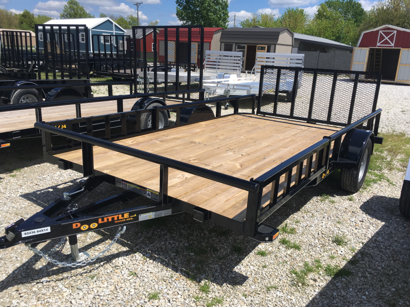 2019 Doolittle Mfg 84 x 12 SS SERIES Utility Trailer