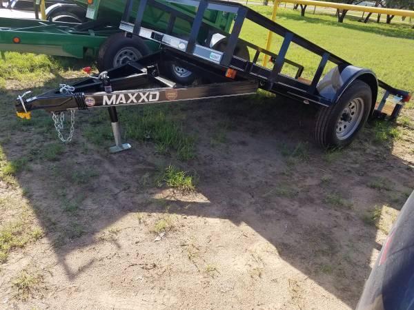 2016 Maxxd Trailers QUICK TILT ATV Trailer