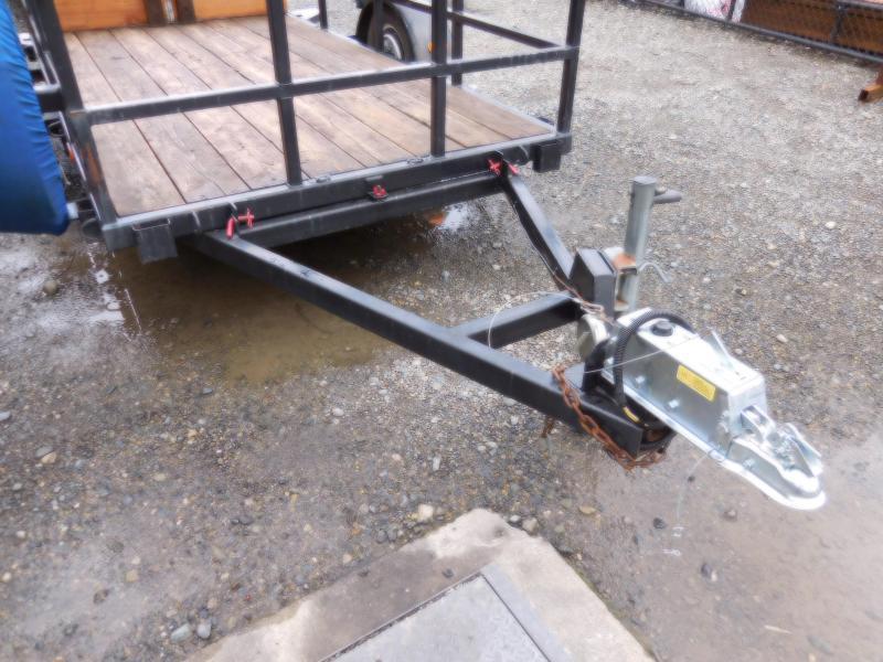 Used 1994 TorkL 5x10x3 Flatbed Tilt Utility Trailer