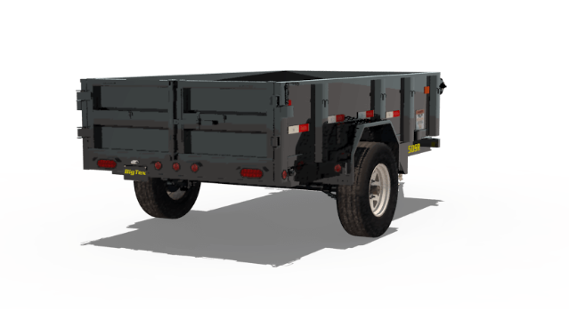 2019 Big Tex 50SR 5x8 5K Dump Trailer