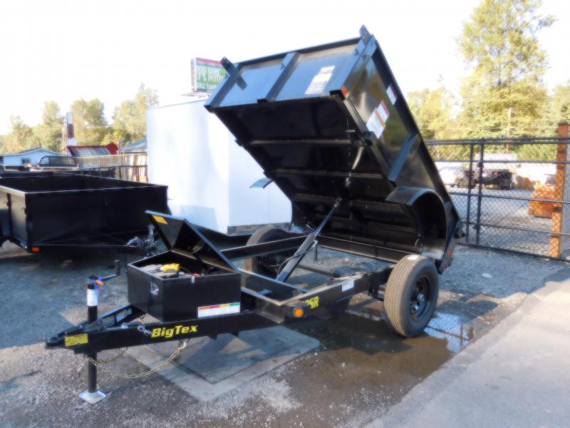 2019 Big Tex 50SR 5x8 Single-Ram 5K Dump Trailer