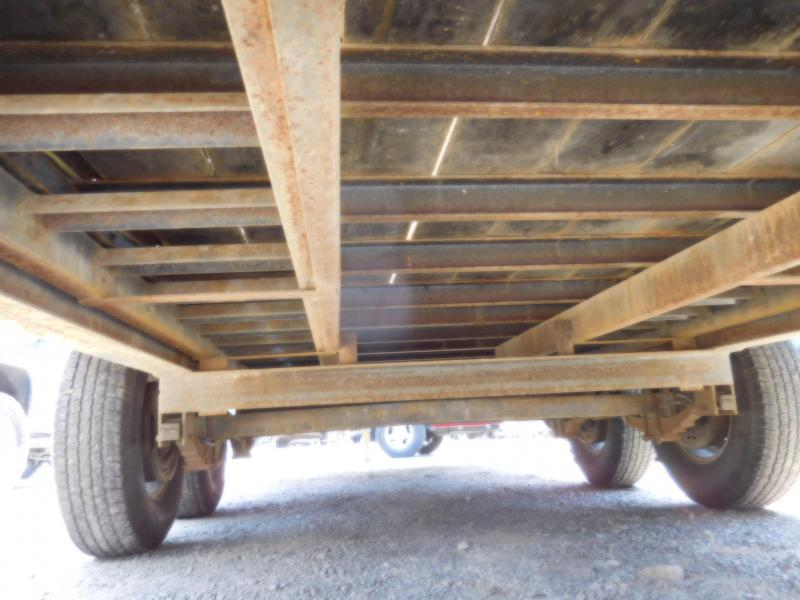 Used 2013 Big Tex Trailers 140A-20 Flatbed Equipment Trailer
