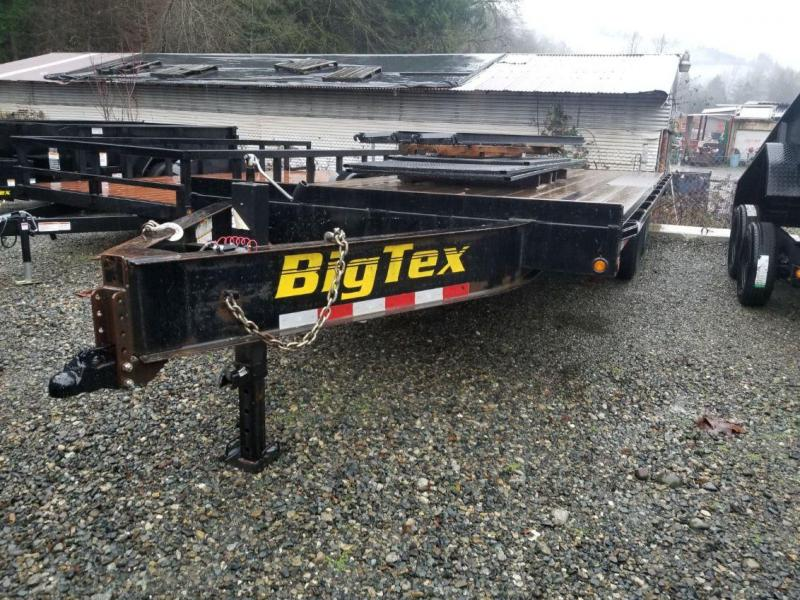 Used 2013 Big Tex 140A-20 Flatbed Equipment Trailer **SOLD**