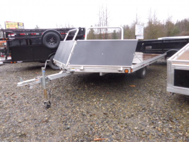 Used 2008 Triton 2 Place Open Tilt Snowmobile Trailer