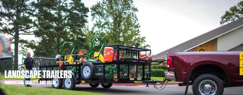 2018-2019 Big Tex Utility - Landscape - Dump - Car Hauler - Tilt - Equipment - Gooseneck Trailers