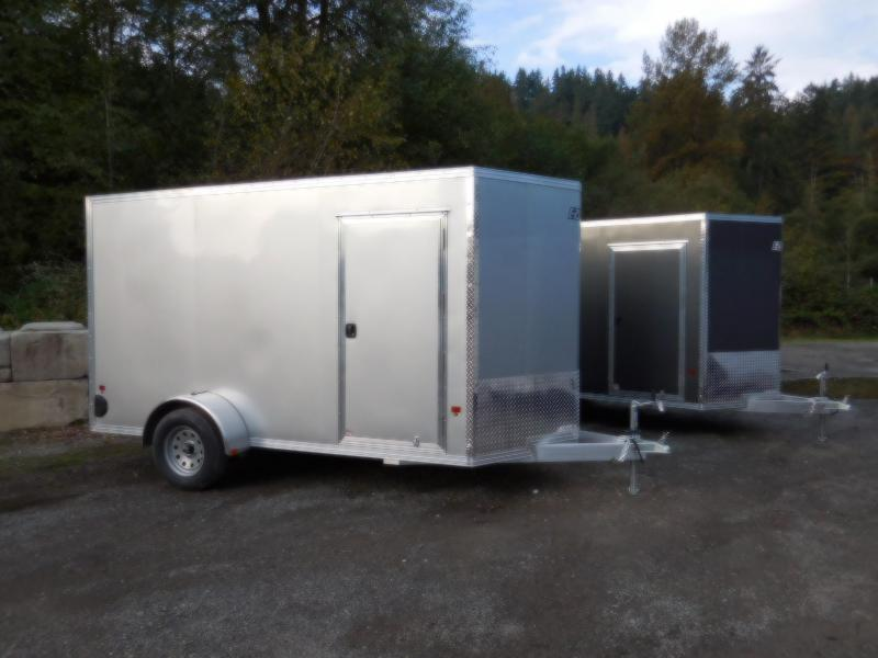 2019 EZ Hauler 6x12 All-Aluminum Enclosed Cargo Trailer