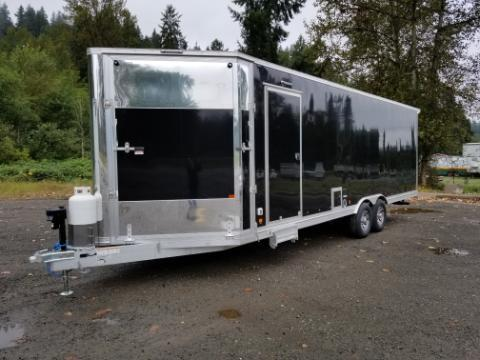 2020 Mission 8.5x26 Elevation Snowmobile Trailer Snowmobile Trailer