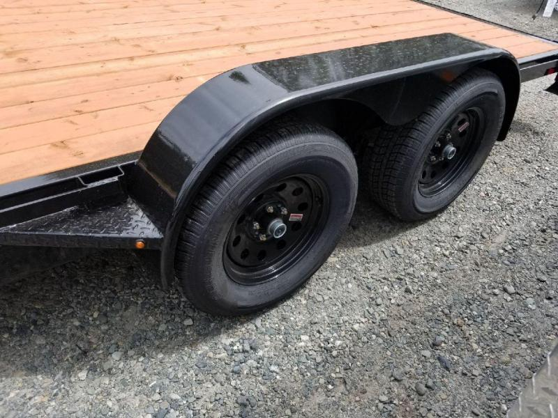 2019 Iron Eagle 7x14 7000 Series Flatbed Trailer - Ramps Included