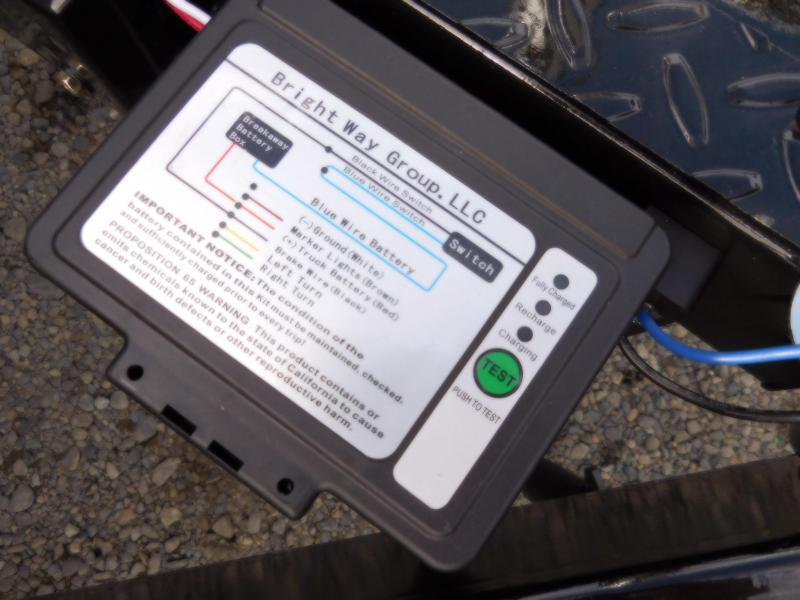 2019 Iron Eagle 6x10x2 Voyager Series 5K Utility Trailer