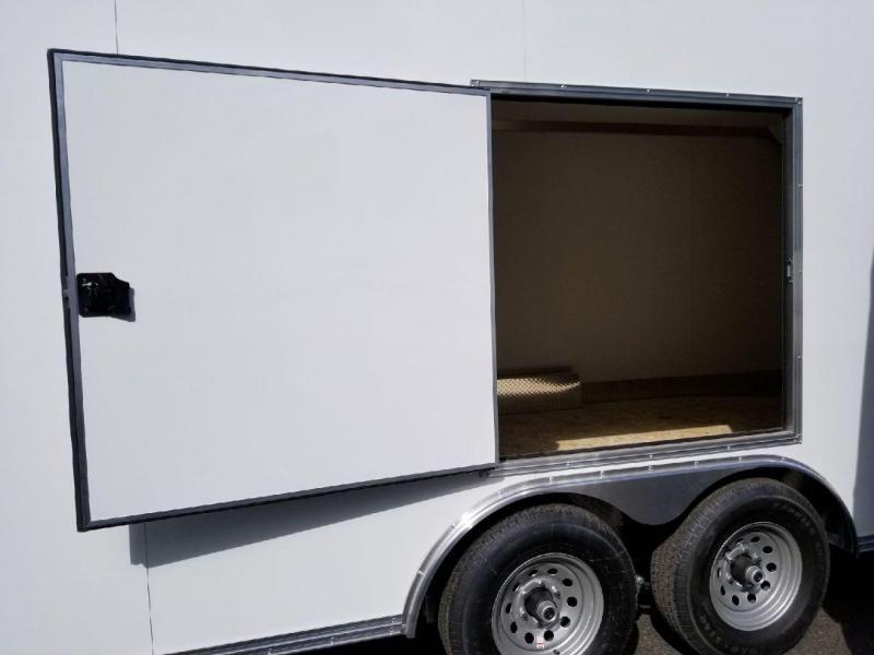 2018 EZ Hauler 8x24 Enclosed Car Hauler 10K Cargo Trailer