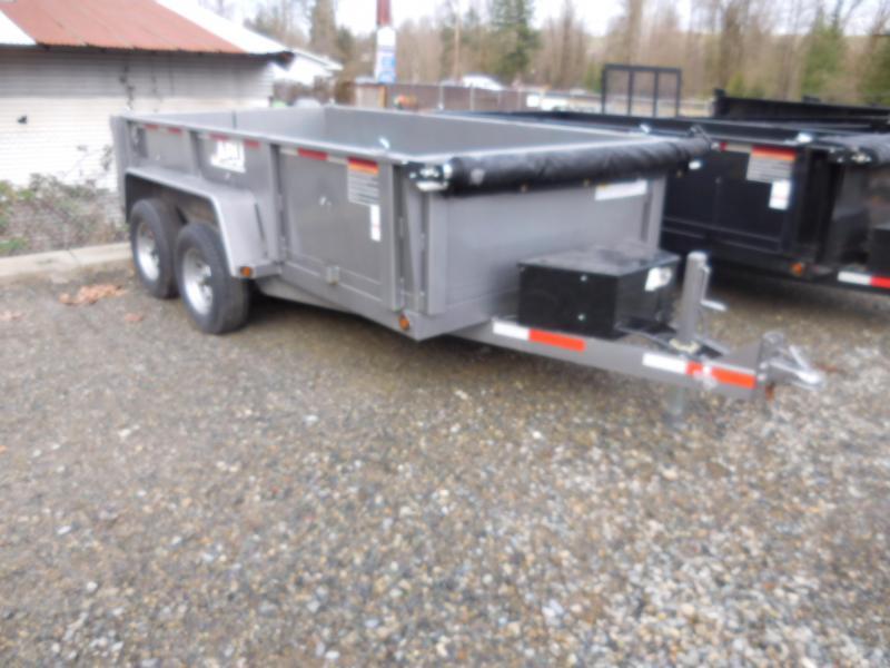 2019 ABU 6x10 Scissor Lift 10K Dump Trailer