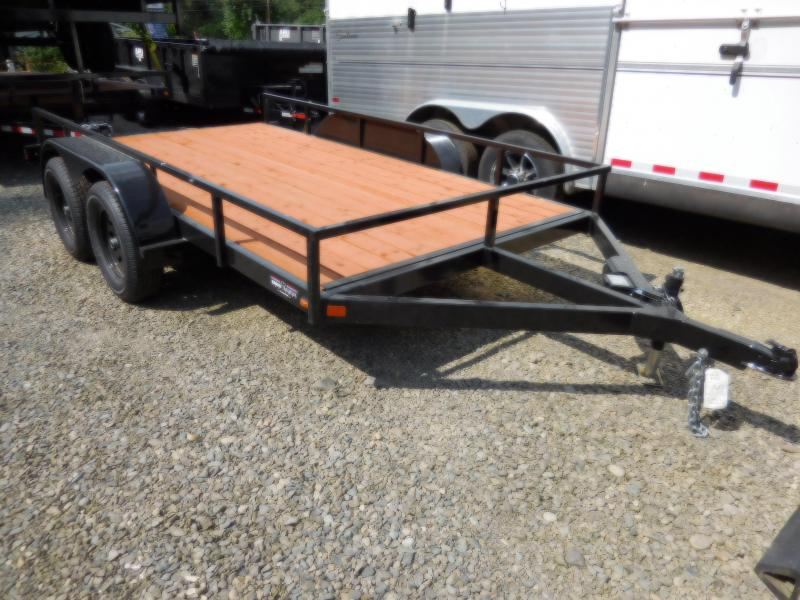 2018 Iron Eagle 6.5x12 Economax Series Utility Flatbed ATV Trailer