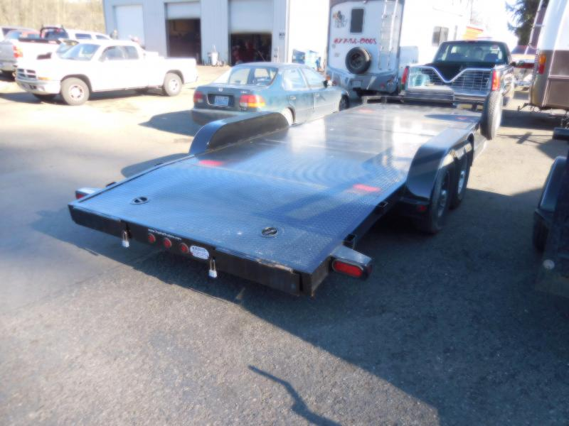Used 2017 Top Hat 7x20' Car Hauler Flatbed Trailer