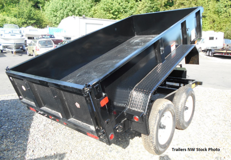 2018 Big Tex 70SR 6x10 7K Dump Trailer with Rear Spreader & Tailgate