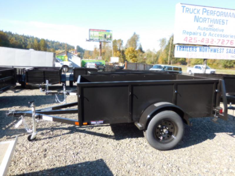 2019 Iron Eagle 5x8 Voyager Series Utility Trailer