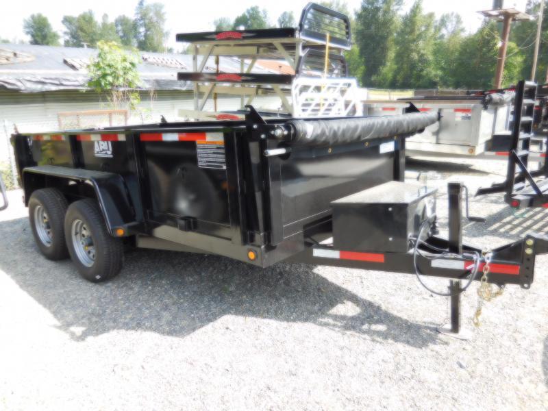 2019 ABU 6x12 10K Dump Trailer - Ramp Kit