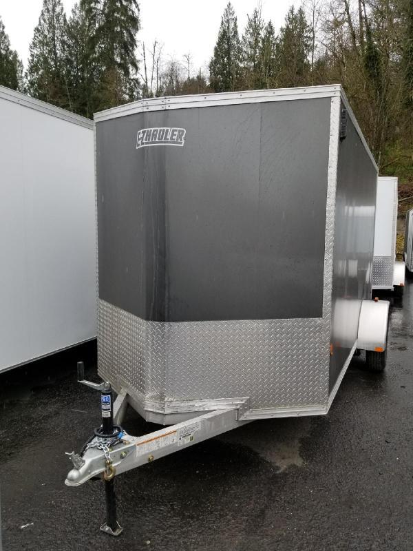 2018 EZ Hauler 6x12 All Aluminum Enclosed Cargo Trailer - Ramp