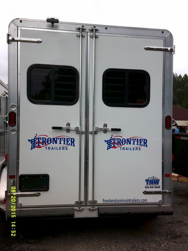 2016 Frontier Strider 3H Warmblood Horse Trailer