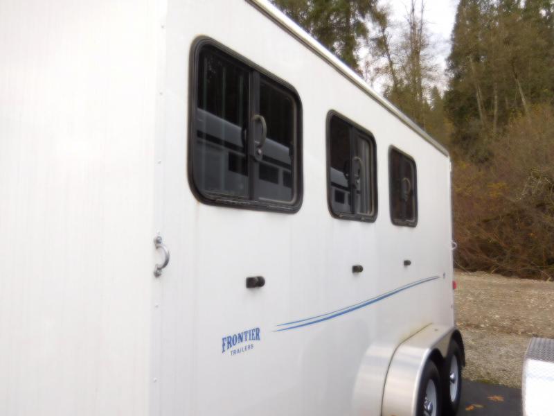 2016 Frontier Strider 3H Warmblood Horse Trailer  **PENDING SALE!!**