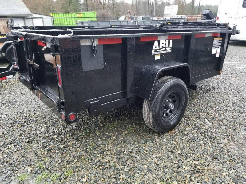2019 ABU 5x10 Single Axle 5K Dump Trailer
