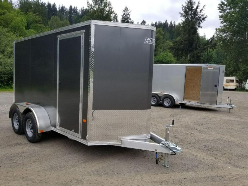 2018 EZ Hauler 6X12 TA All-Aluminum 7K Enclosed Cargo Trailer - Rear Ramp **PENDING SALE!!**