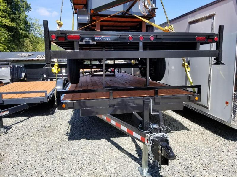 2018 Iron Eagle Titan Series 8.5x20 14K Equipment Flatbed Trailer