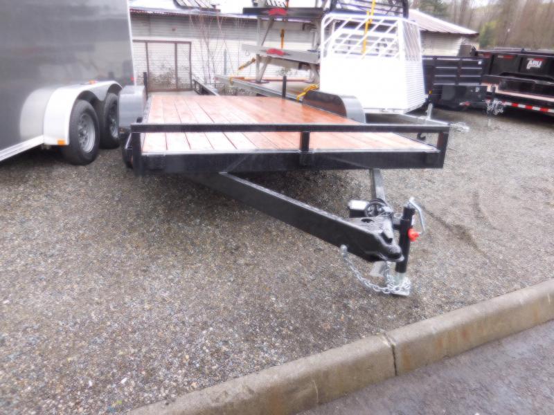 2018 Iron Eagle 7000 Series 7x14 Flatbed Trailer