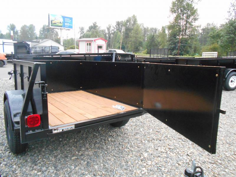 2019 Iron Eagle Voyager  4x6 Swing Gate Utility Trailer