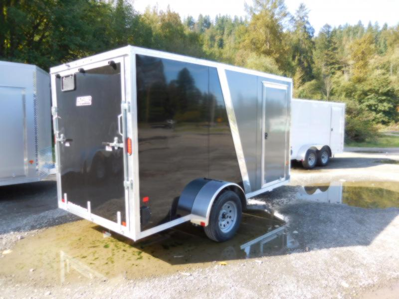 2019 EZ Hauler 6x12 All-Aluminum SA Enclosed Cargo Trailer