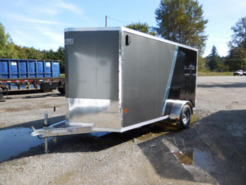 2019 EZ Hauler 6x12 All-Aluminum SA Enclosed Cargo Trailer