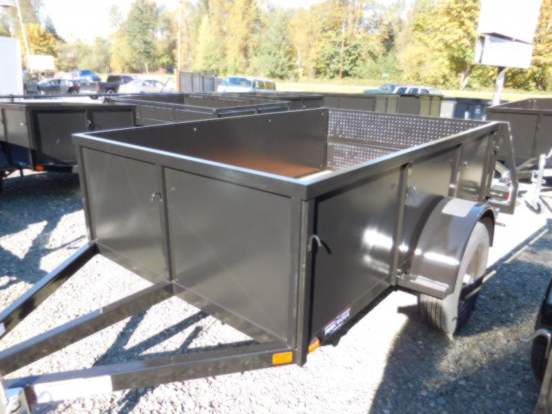 2019 Iron Eagle Voyager Series 5x8 Utility Trailer - Split Ramp Tailgate