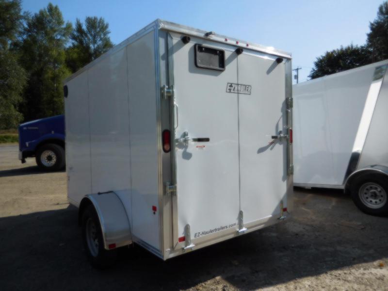 2019 EZ Hauler 6x10 All-Aluminum Enclosed Cargo Trailer w/Ramp