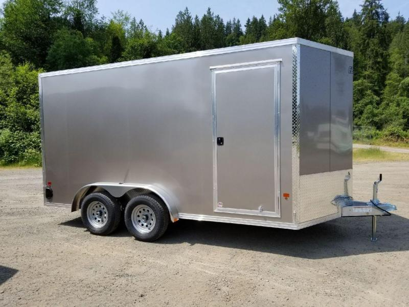 2018 EZ Hauler 7.5x14 All-Aluminum 7K TA Enclosed Cargo Trailer