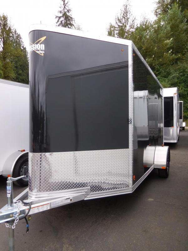 2017 Mission 6x12 All Aluminum Cargo Trailer with Rear Ramp **PENDING SALE!!**