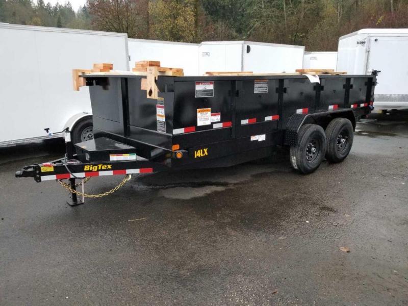 2019 Big Tex 14LX-16 Scissor Lift 14K Dump Trailer