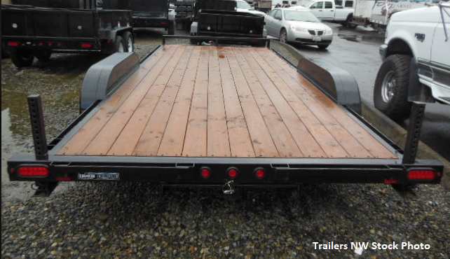 2019 Iron Eagle 7x16 7K Series Flatbed Trailer