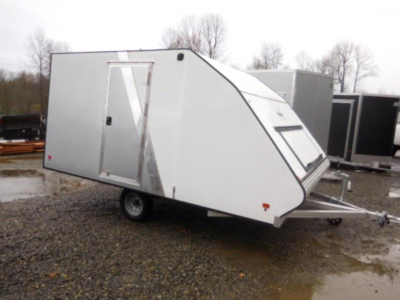 2018 Mission MFS 101x12 Crossover Snowmobile Trailer