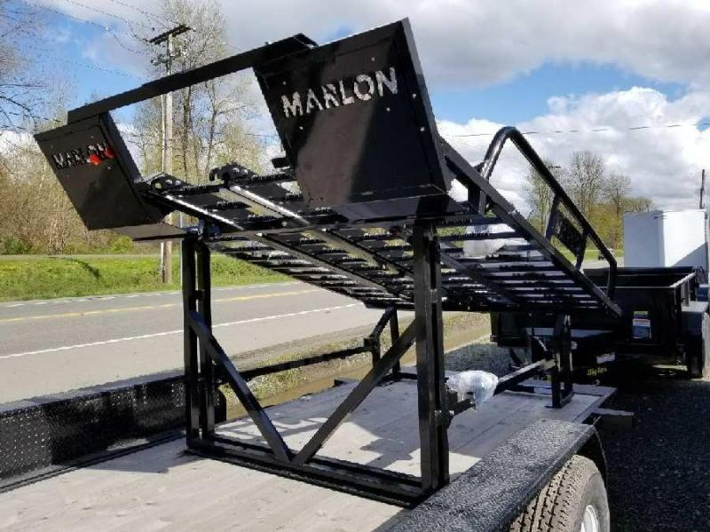 2018 Marlon Xplore Side by Side Deck ATV Trailer