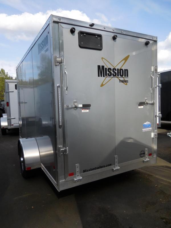 2019 Mission 6x12 All Aluminum Enclosed Cargo Trailer