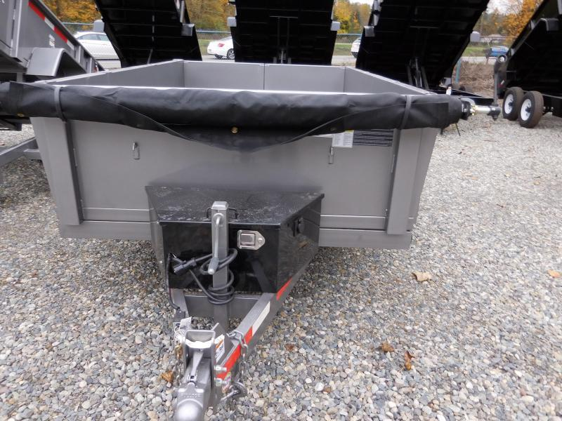 2019 ABU 6x10 Dump Trailer 10K w/ Double Rear Doors