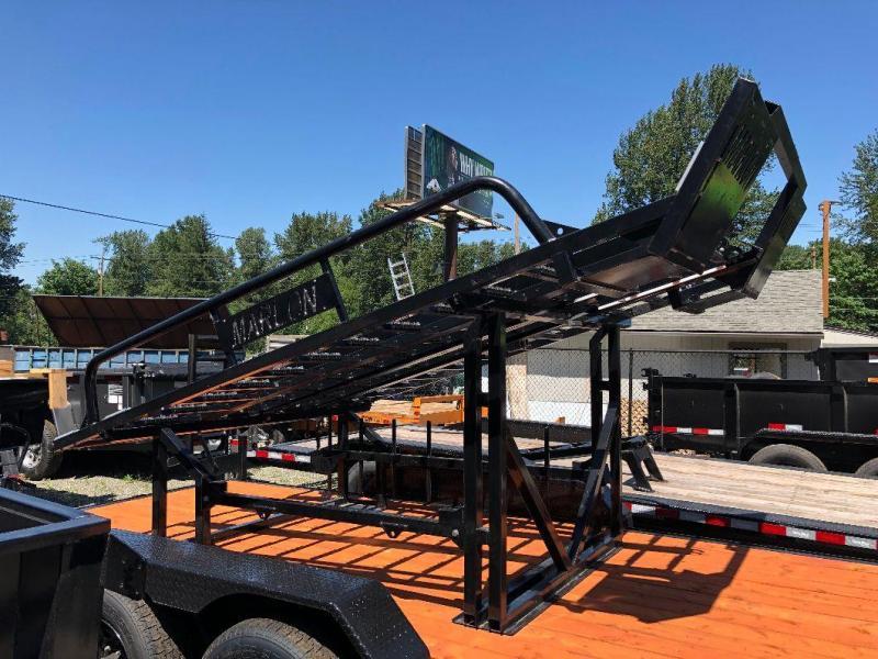 2019 Marlon Trailers Xplore Side by Side Deck Truck Bed