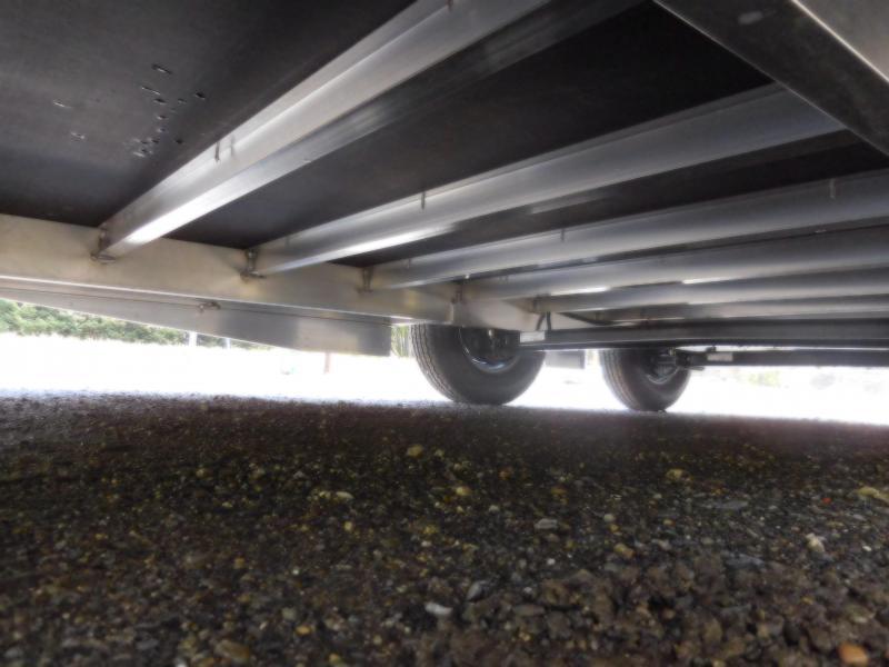 2019 EZ Hauler 8x24 All-Aluminum Enclosed Car Hauler Cargo Trailer