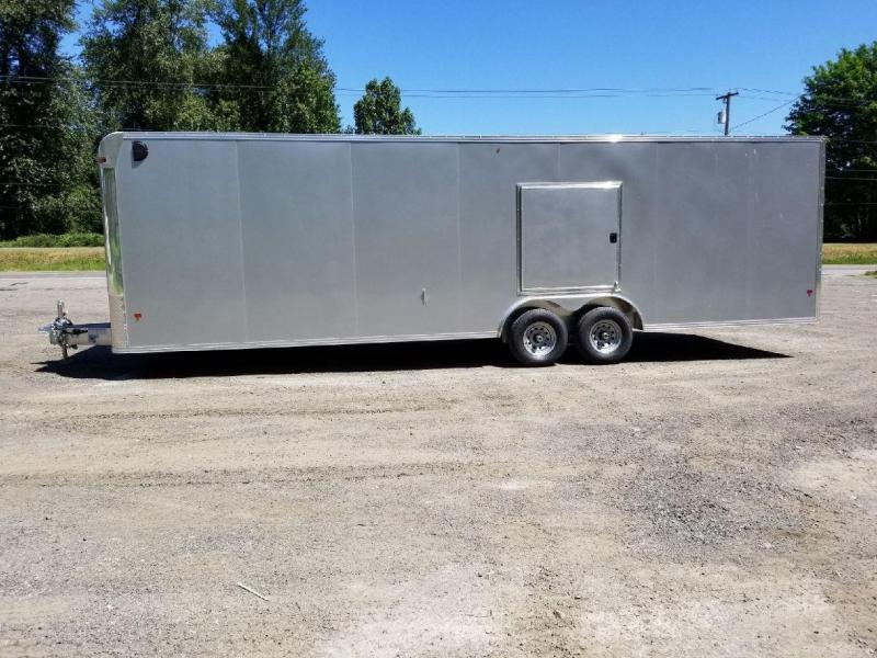 2018 EZ Hauler 8x28 All-Aluminum 10K Enclosed Car Hauler Trailer