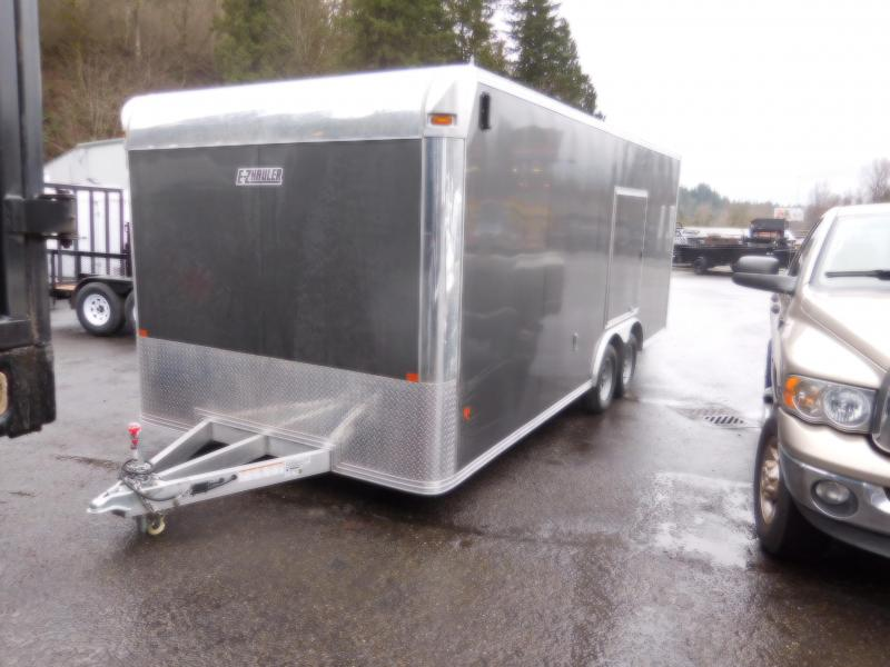 2018 EZ Hauler 8x20 All Aluminum Enclosed Car Hauler Trailer