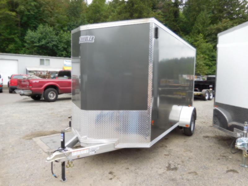 2018 EZ Hauler 6x12 SA All-Aluminum Enclosed Cargo Trailer